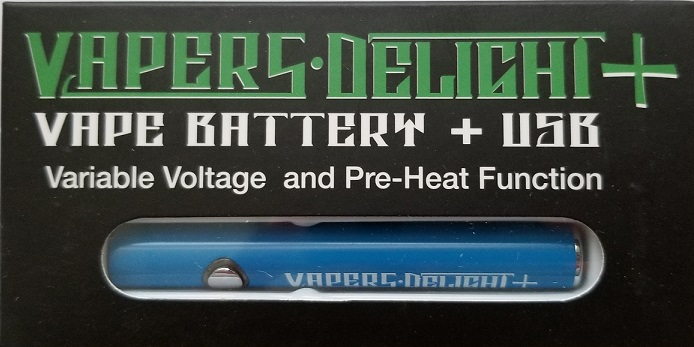 Superior Vape Cartridge Battery W/USB Charger
