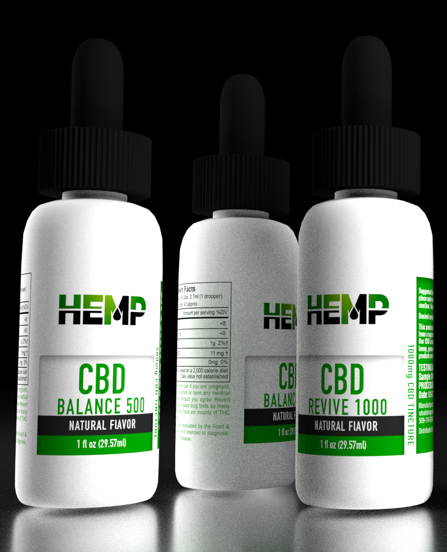 Hemp 500 Full Spectrum CBD